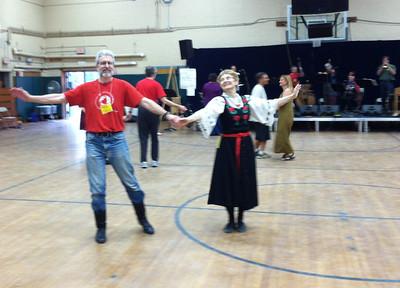 Dancing to music by Panharmonium