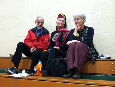 Robin, Zjemi, and Jenny