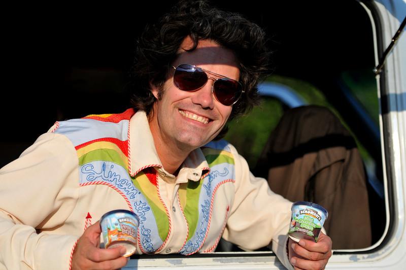 "The Ice Cream Man - ""Slingin' The Cream -- Livin' the Dream"""