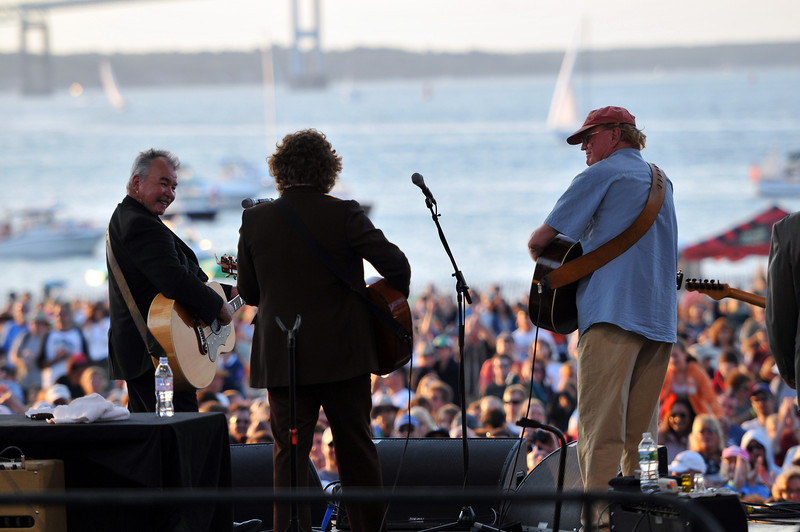 Yim Yames & Jim Rooney sit in with Prine