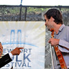 Andrew Bird sitting in with Preservation Hall Jazz Band