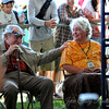 George Wein and Mrs. Jaffe, who, with her husband founded Preservation Hall.
