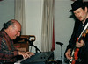 George Wein jamming The Blues with Ronnie Earl 1997