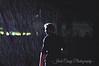 Harry Connick, Jr. in torrential rain Newport 2004