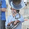 John Ellis & Double Wide, Matt Perrine, sousaphone