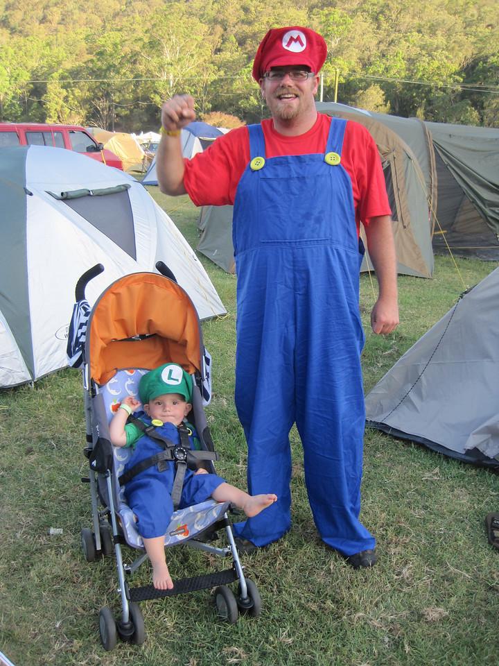 Yipee! It's a Mario and-a Luigi!