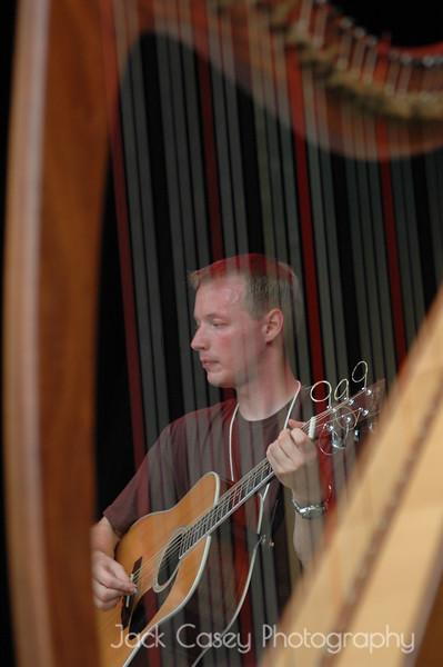 Catriona McKay harp with Fionan de Barra