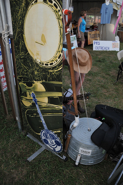A Washtub Bass