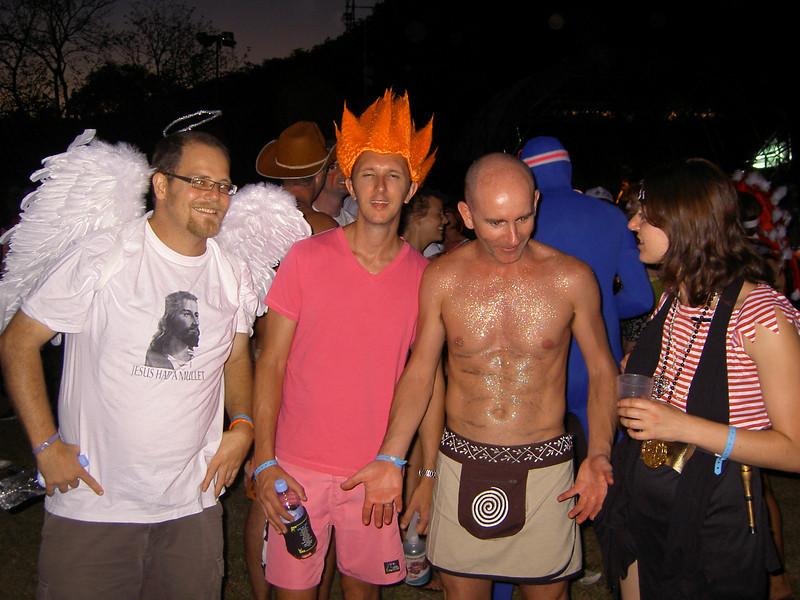 Simon, Todd, Pete and Sharon