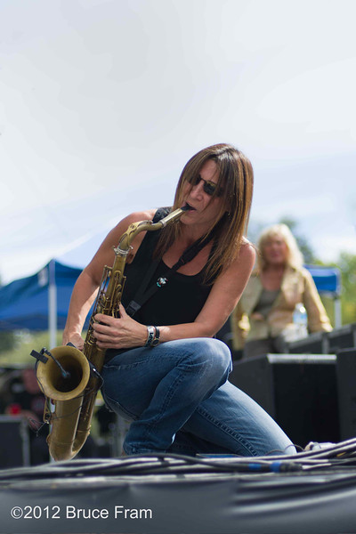 Deanna Bogart, The Blues Broads - Russian River Jazz and Blues Festival 2012