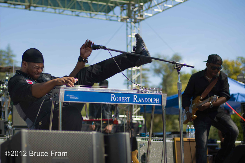 Robert Randolph - Russian River Jazz and Blues Festival 2012