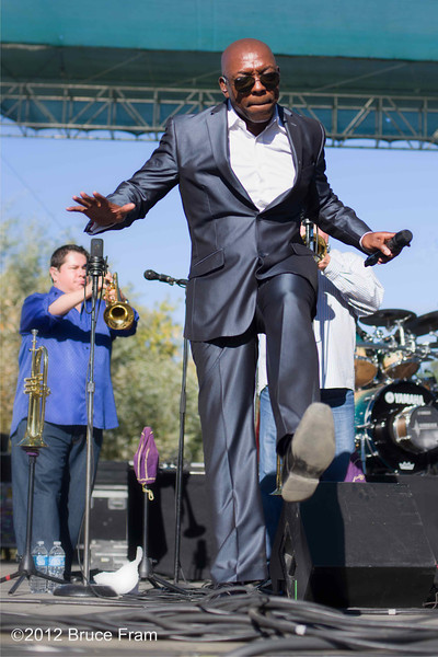 Larry Braggs, Tower of Power - Russian River Jazz and Blues Festival 2012