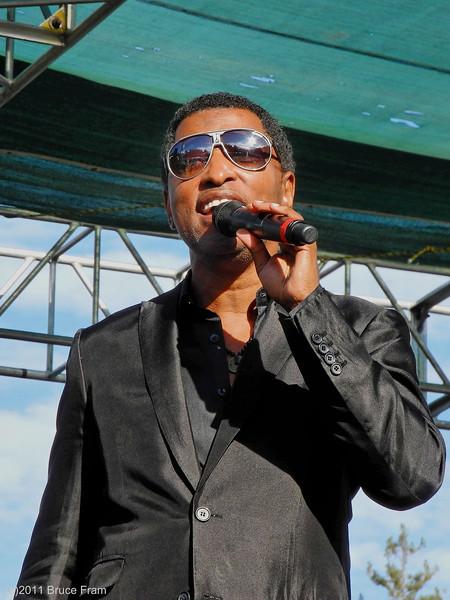 Kenny Babyface Edmonds - Russian River Festival 2011
