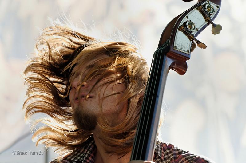 Eric Lindell Band, Myles Weeks - San Jose Jazz Festival 2011