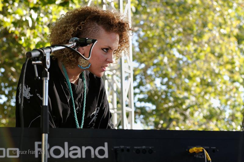 Cassie Taylor - San Jose Jazz Festival 2011