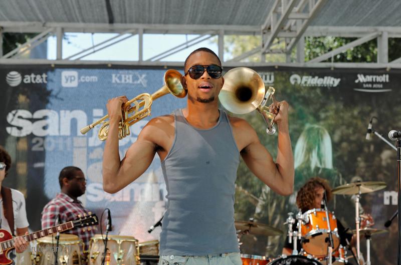 Trombone Shorty - San Jose Jazz Festival 2011