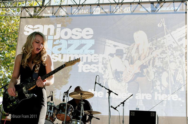 Samantha Fish - San Jose Jazz Festival 2011