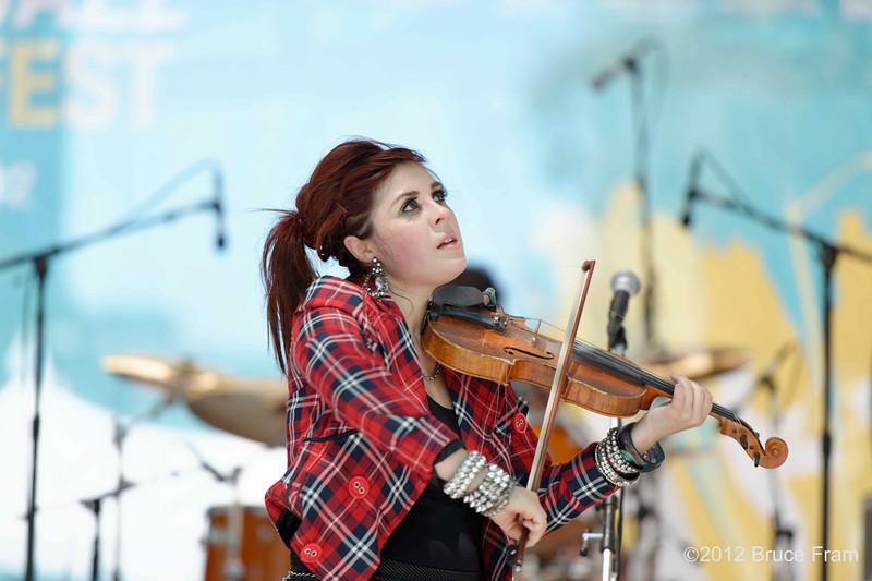 Amanda Shaw - San Jose Jazz Festival 2011
