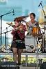 Amanda Shaw, Mike Barras - San Jose Jazz Festival 2011