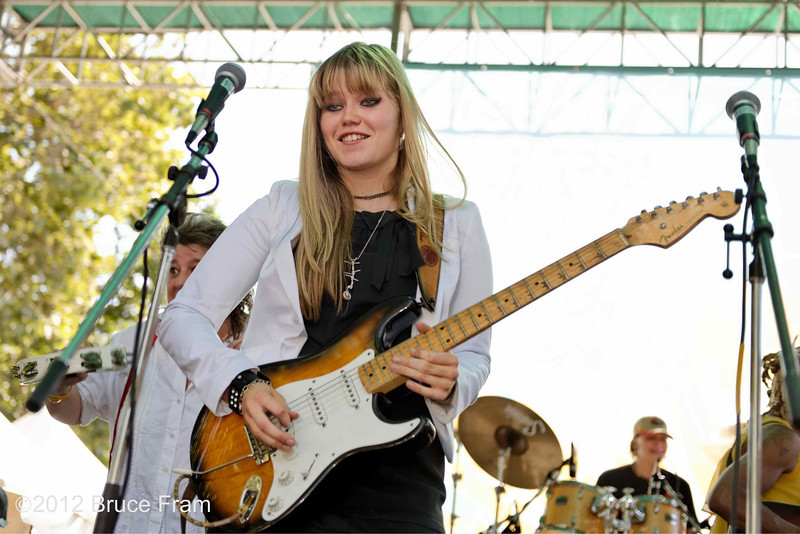 Liva Slingerland - San Jose Jazz Festival 2011