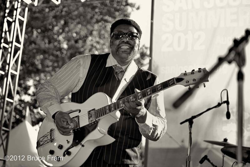 JC Smith - San Jose Jazz Festival 2011