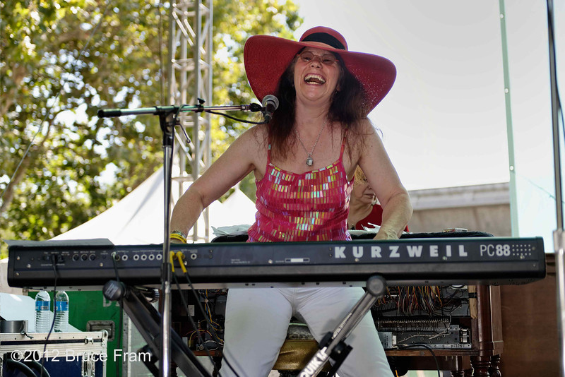 Wendy Dewitt - San Jose Jazz Festival 2011