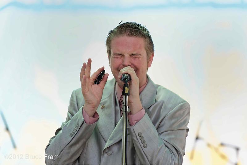 Kyle Rowland - San Jose Jazz Festival 2011
