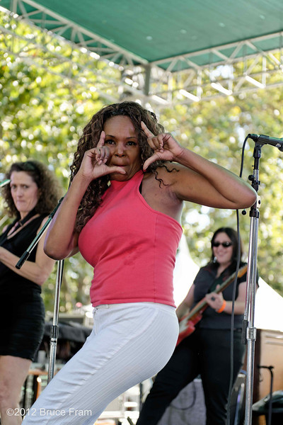 Pam Hawkins - San Jose Jazz Festival 2011