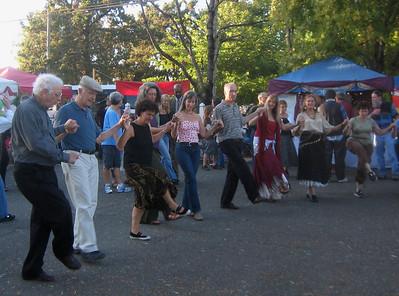 Dancers on Sat. Sept 20, 2008.