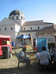 Saint Seraphim Church  and youth activities during the Glendi