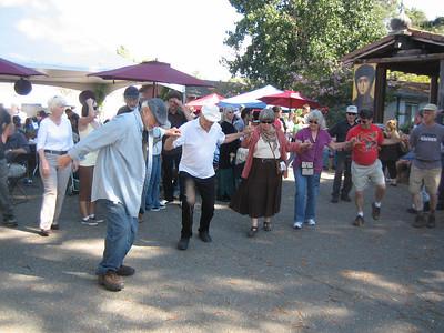 Greek dancing...