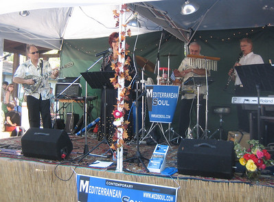 SUNDAY:  another day at the Glendi. Music by Mediterranean Soul, with guest musician George Chittenden