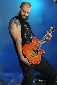 Baroness @ Soundwave Brisbane 2010  Photographer: Stuart Blythe - http://stuartblythe.com