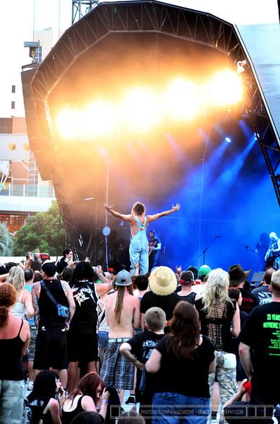 "Social Distortion, Rob Zombie, Slash, Slayer, The Bronx @ Soundwave Brisbane 2011  Photographer: <a href=""http://www.smacphotography.com"" target=""_wina"">Silvana Macarone</a>  <a href=""http://lifemusicmedia.com"">LIFE MUSIC MEDIA</a>"