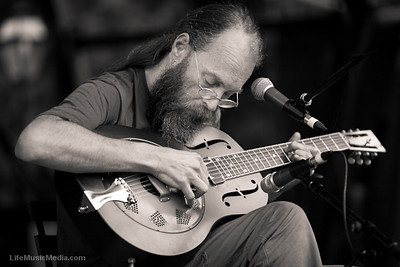 Charlie Parr @ Sunset Sounds 2011 - Brisbane  Photographer: Matt Palmer  Photographer: LIFE MUSIC MEDIA