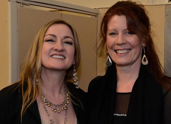 Sue Medley (L)  & Andrea Smith (R)