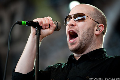 Scott Anderson of Finger Eleven performs on December 5, 2010 during 97X Next Big Thing at 1-800-ASK-GARY Amphitheater in Tampa, Florida