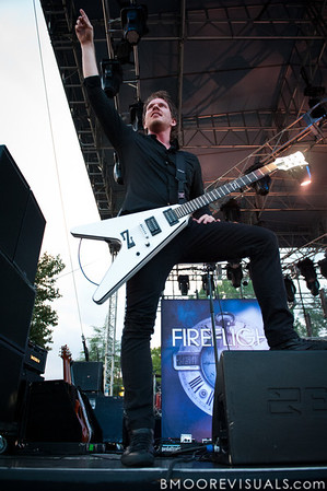 "Glenn Drennen of Fireflight performs on September 11, 2010 during ""Rock The Universe"" at Universal Studios in Orlando, Florida"