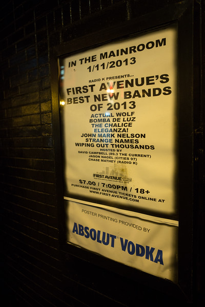 First Avenue's Best New Bands 2012