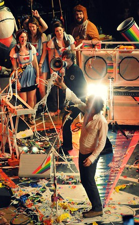 Steven Drozd, Wayne Coyne, The Flaming Lips, The Ryman Auditorium, Nashville,Tennessee,2011