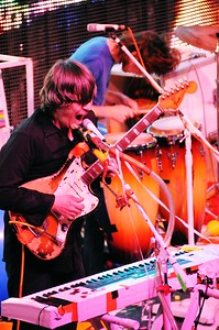 Steven Drozd, Derek Brown, The Flaming Lips, The Ryman Auditorium, Nashville,Tennessee,2011