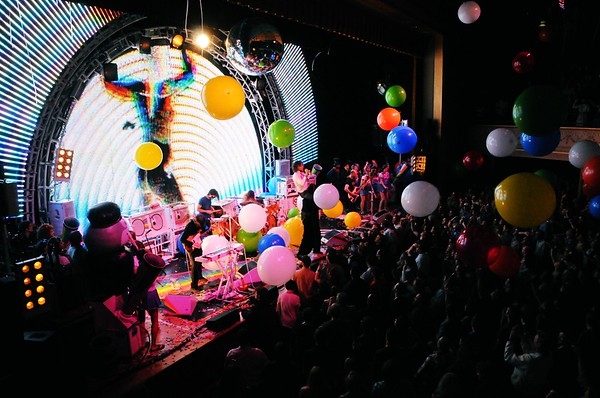 The Flaming Lips, The Ryman Auditorium, Nashville,Tennessee,2011
