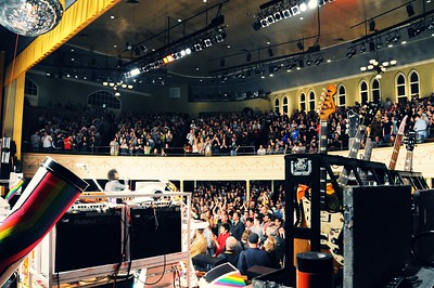 The Flaming Lips,The Ryman Auditorium, Nashville, Tennessee, 2011.
