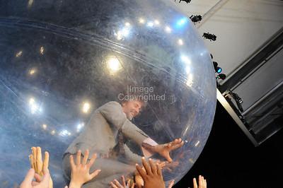 Wayne Coyne, Atlanta, Chastain Park 2009, Live music, Concert, Flaming Lips.