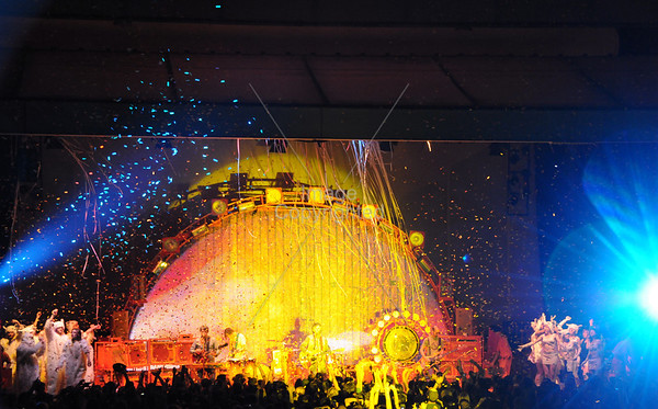 Flaming Lips, Live Music, Concert, Chastain Park 2009, Atlanta.