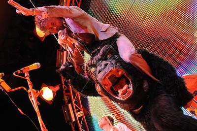 Wayne Coyne, Flaming Lips, Atlanta, Chastain Park 2009, Live Music, Concert