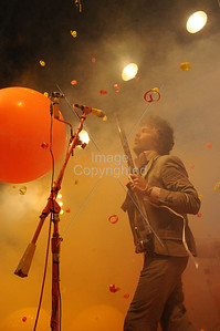 Wayne Coyne, Flaming Lips, Atlanta, Chastain Park 2009, Live Music, Concert.