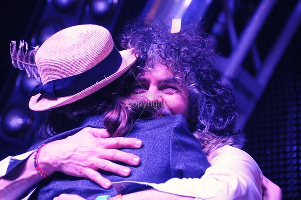 Charlotte Kemp Muhl,Plastic Ono Band,Wayne Coyne, The Flaming Lips, New Years Freakout 5. January 1, 2012. Oklahoma City, Oklahoma