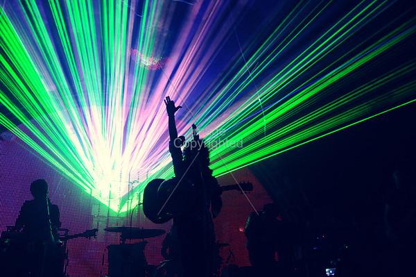 The Flaming Lips, New Years Freakout 5. Night 2. January 1,2012. Oklahoma City, Oklahoma.