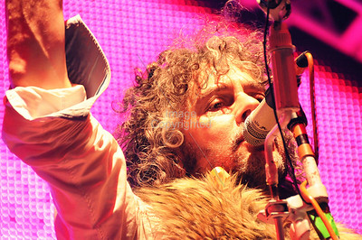 wayne Coyne, Flaming Lips Freakout 5. Night 2. January 1, 2012. Oklahoma City, Oklahoma.